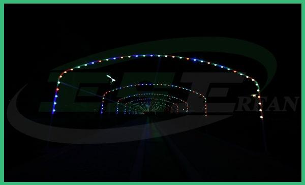 تونل نورانی- شرکت عرفان صنعت اصفهان