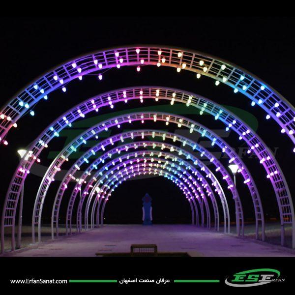 تونل نورانی