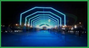 تونل نورانی - شرکت عرفان صنعت اصفهان
